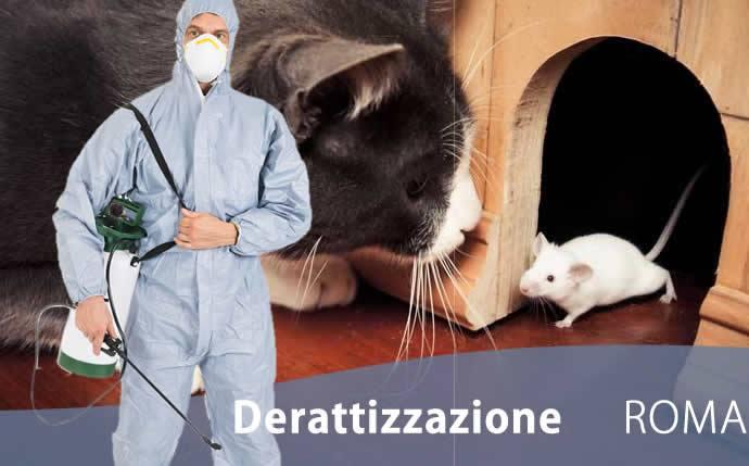 Derattizzazione Roma